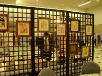 木版画展示作品