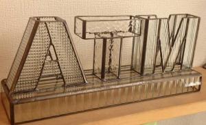 ステンドグラス ガラス表札
