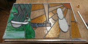 アンティーク ステンドグラス 修理 修繕