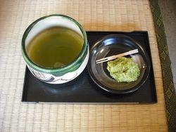 オリーブ抹茶とオリーブまんじゅう
