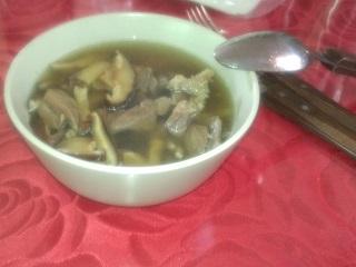 羊肉のスープ