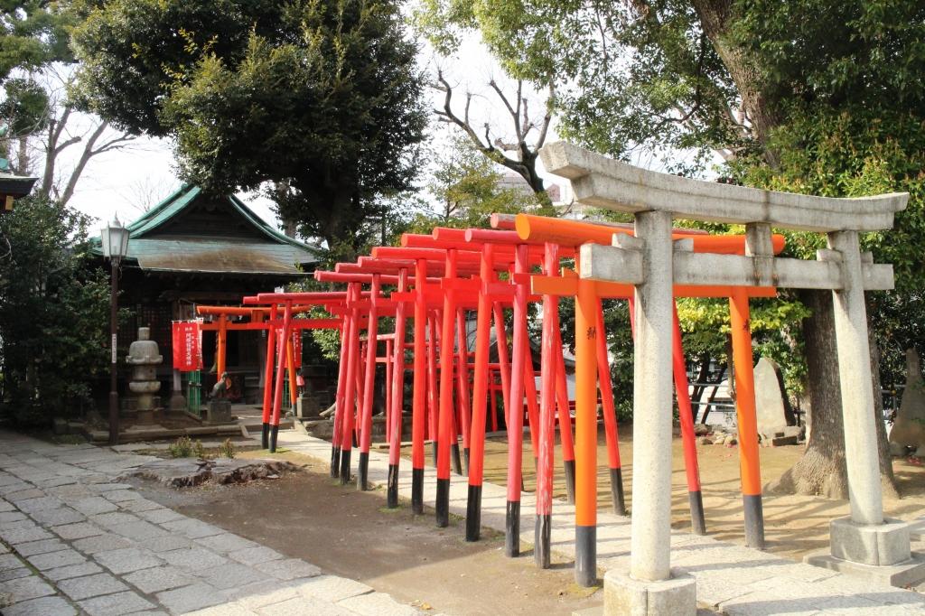 品川神社・阿那稲荷社