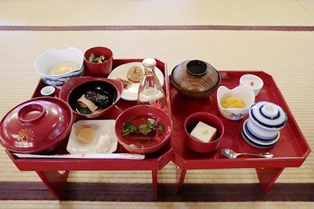 大雄山最乗寺での昼食