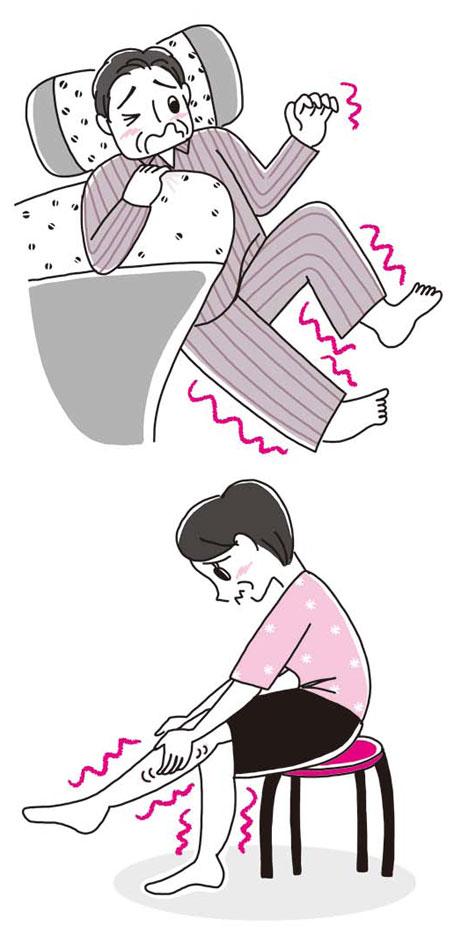 高齢者イラスト,健康イラスト,NHK出版きょうの健康イラスト