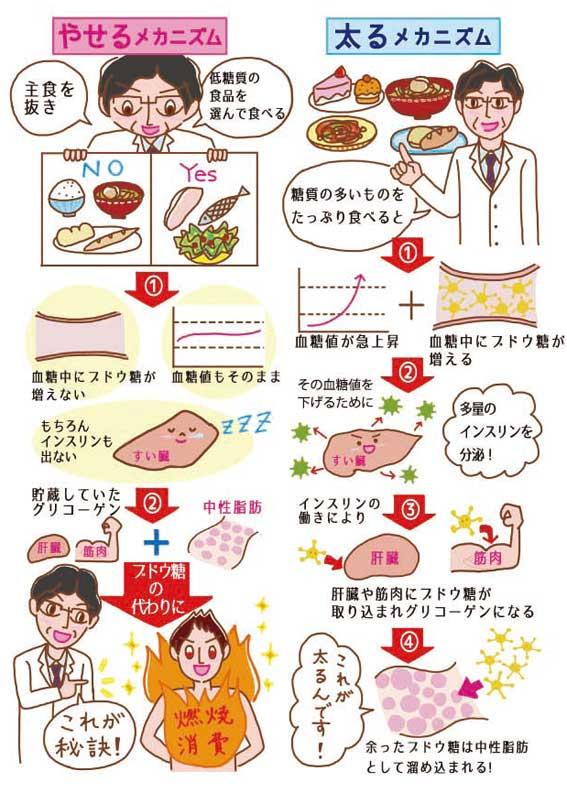 図解イラスト,マンガイラスト,新星出版社 書籍「糖質オフの野菜たっぷりおかず」イラスト