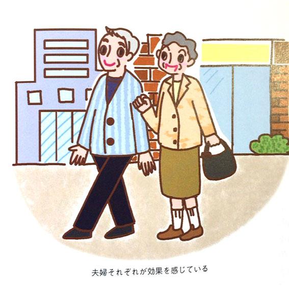 マキノ出版 マキノムック「酢ショウガで病気を治す本」 美容イラスト,健康イラスト,高齢者イラスト