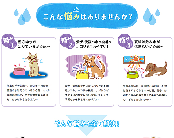 ベネッセ「いぬのきもち ねこのきもち」WEB 広告記事イラスト,犬イラスト,猫イラスト