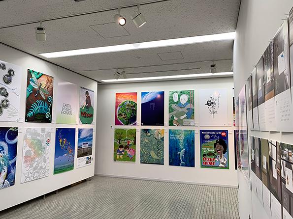 展示『地球はともだち2019チャリティーカレンダー+環境ポスター展』B1ポスターイラスト,自然イラスト,子供イラスト