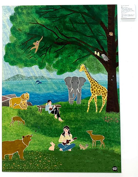 展示のお知らせ『地球はともだち2020チャリティーカレンダー+環境ポスター展』無事終了しました。