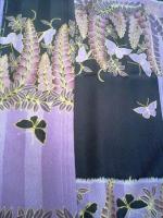 蝶の絵羽小紋