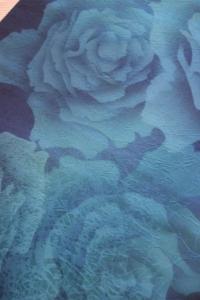 青い薔薇の帯