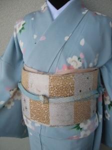 FR028 空色の桜小紋