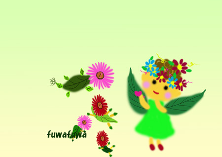 森の妖精と聖獣たち