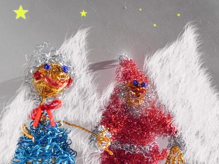 ワイヤーアート:Santa Clausサンタクロース