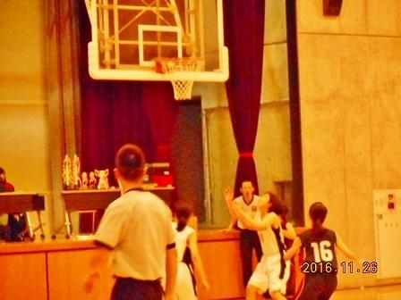 バスケ試合