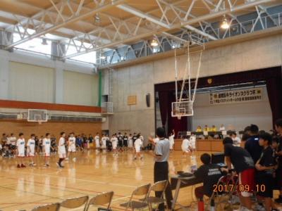 バスケ会場風景1