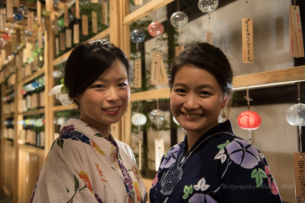 川越 氷川神社,浴衣女子,Nikon D750