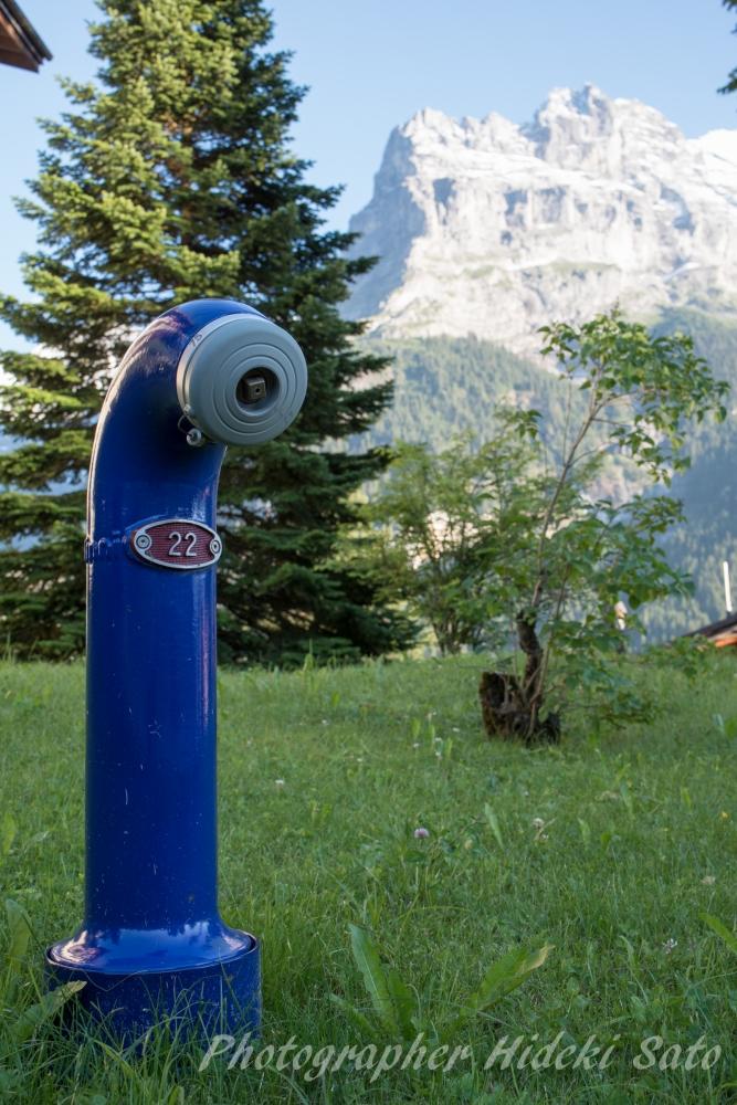 Swiss,消火栓,街並み
