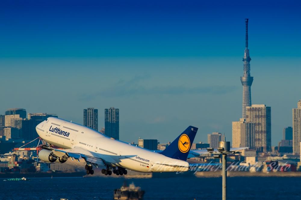 羽田空港,747