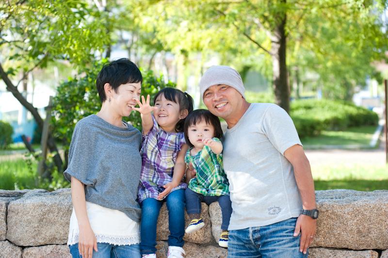 神戸 家族 写真 スタジオ ファミリー Abridephoto ロケーション撮影