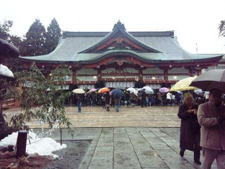 日枝神社、通称「山王さん」。