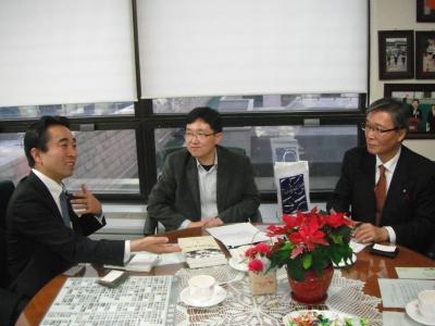 金韓国国会議員会談