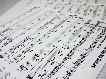 写譜ペンで書いた譜面♪