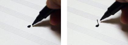 写譜ペンの使い方1