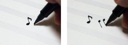 写譜ペンの使い方2