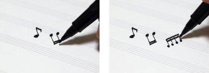 写譜ペンの使い方3