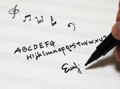 写譜ペンの使い方4