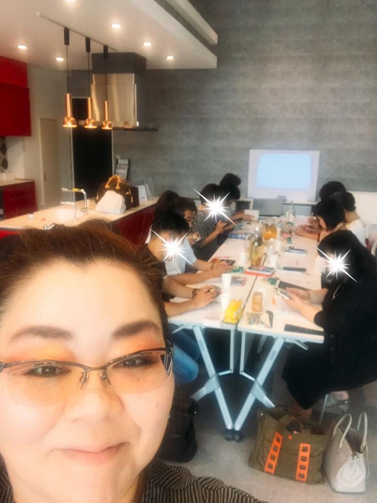 手相色彩学研究所®【お茶会】