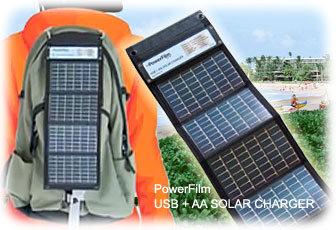 ソーラー充電器パワーフィルム