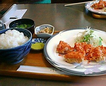 鶏唐揚チリマヨ
