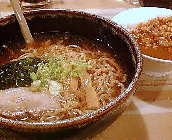 ラーメン丼カレー