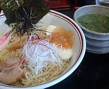 鶏塩つけ麺