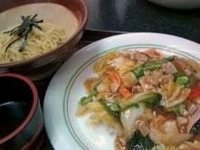 中華飯つけ麺セット