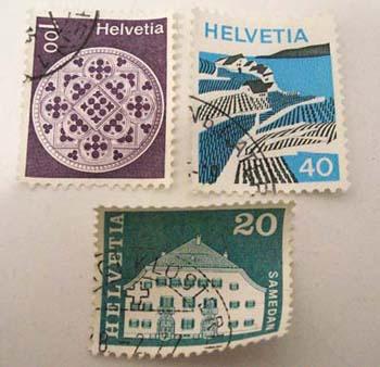 スイス 切手