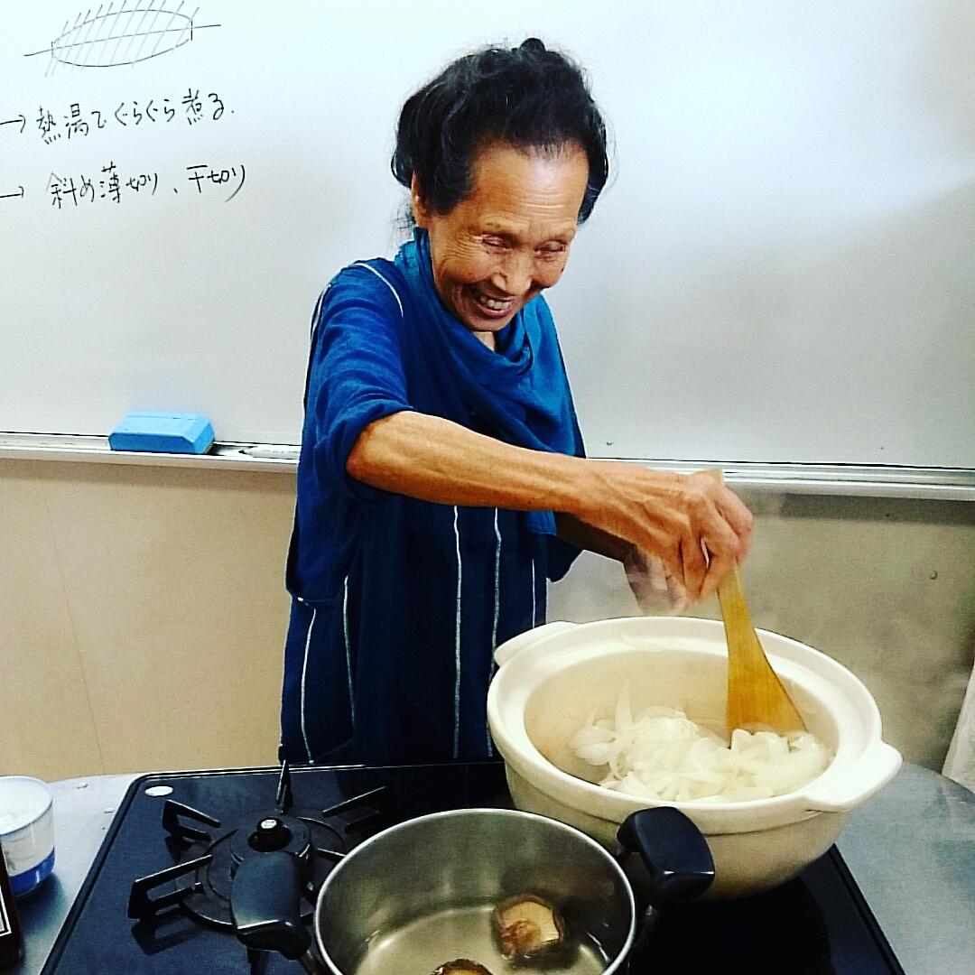 若杉友子先生の料理教室