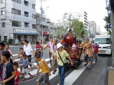 万世子供の広場夏祭り