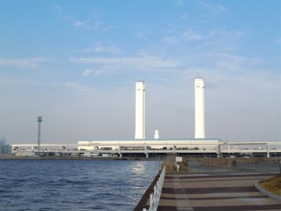 東京電力横浜火力発電所