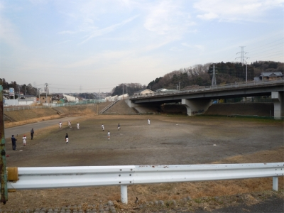 名瀬川遊水池