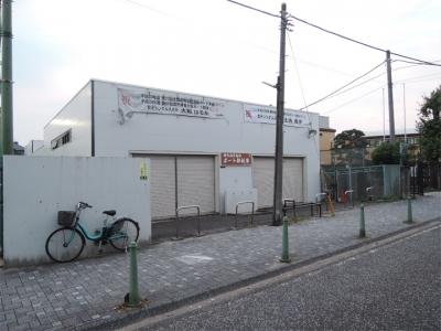 横浜商業高校ボート部艇庫