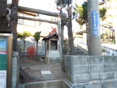 大倉山の祠