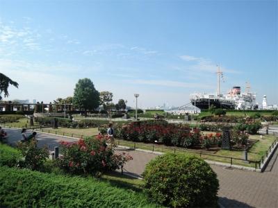 山下公園沈床花壇