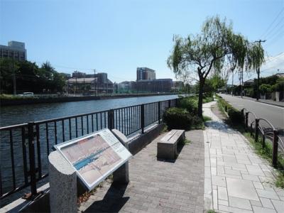 侍従川の金沢八景