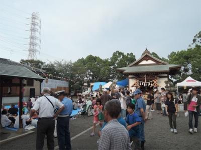 上恩田杉山神社例大祭
