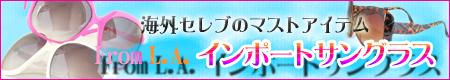 セレブマスト☆ビッグフレーム&L.Aインポートサングラス
