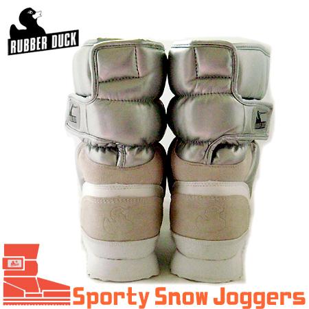 【RUBBER DUCK】JJ・ViVi雑誌掲載◆ラバーダック・SNOW JOGGERS SPORTY(シャイニーシルバー)