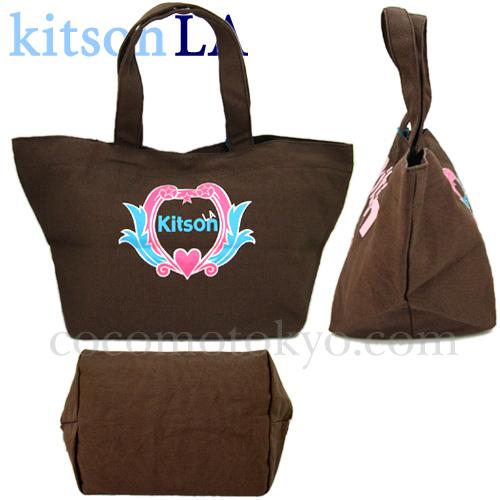 ◎送料込み【kitson LA】日本未入荷<Kitson Mini Canvas Tote bag>キットソン・キャンバスミニトート